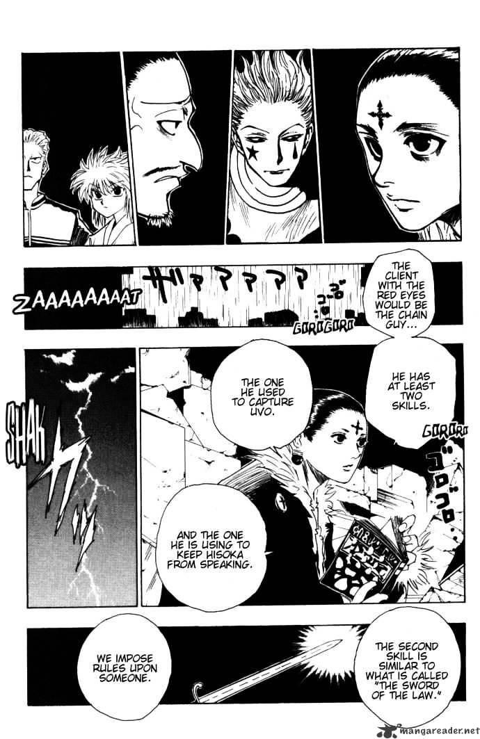 Hunter X Hunter Chapter 106  Online Free Manga Read Image 10