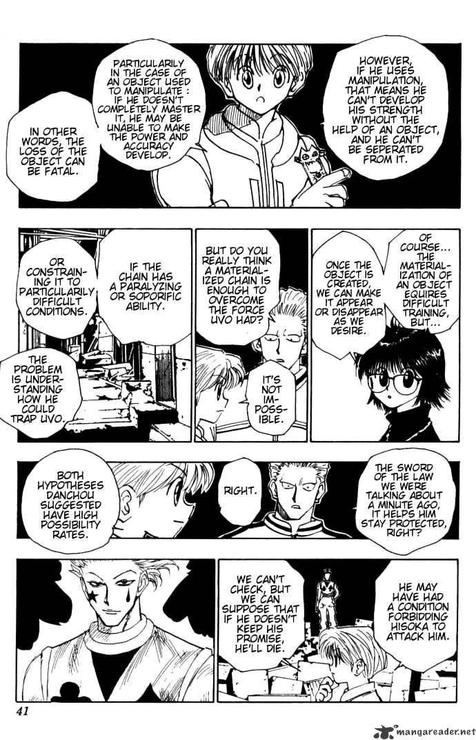 Hunter X Hunter Chapter 106  Online Free Manga Read Image 13