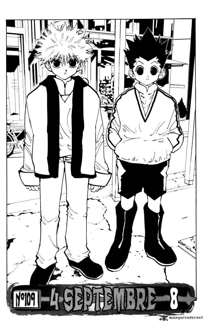 Hunter X Hunter Chapter 109  Online Free Manga Read Image 2