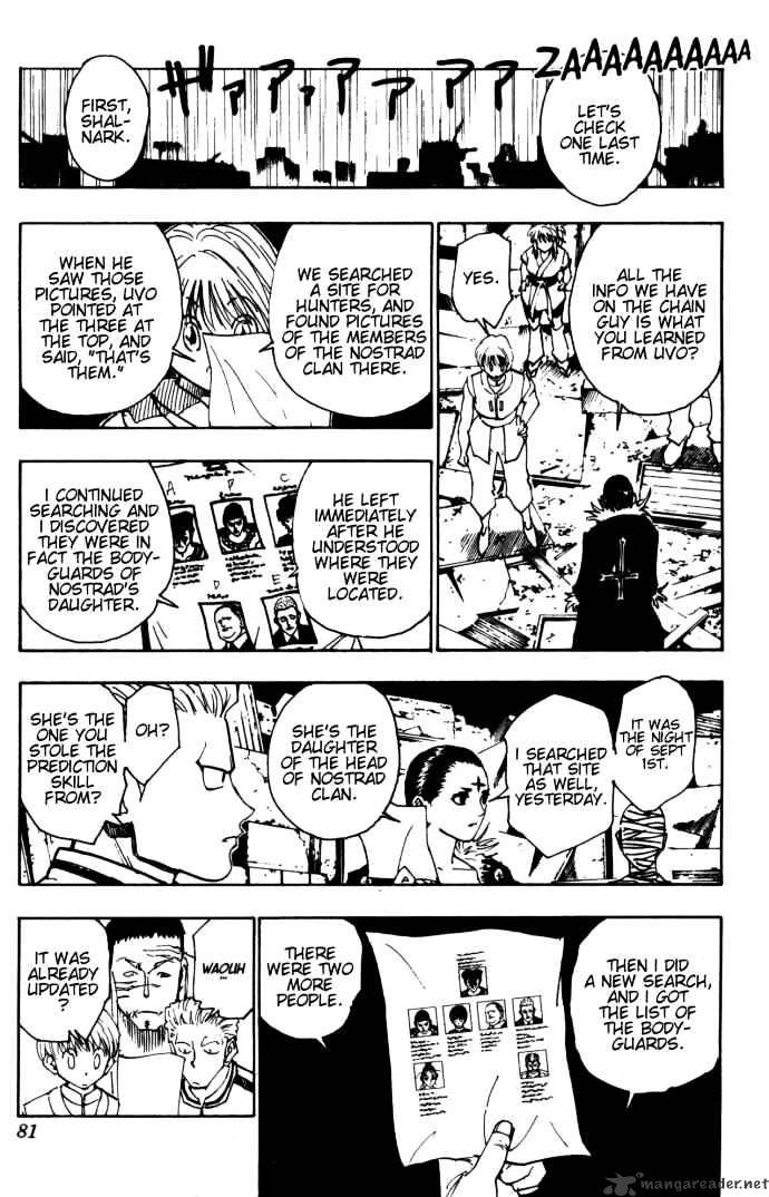 Hunter X Hunter Chapter 109  Online Free Manga Read Image 5