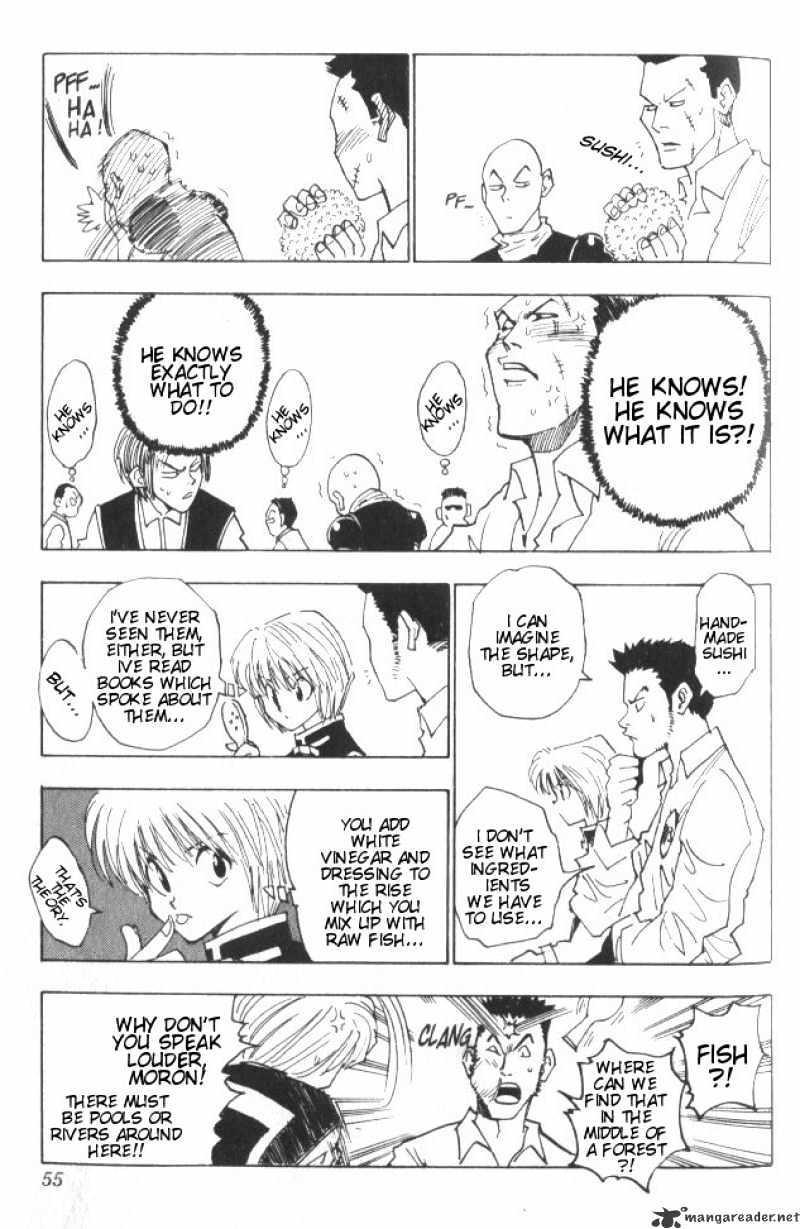 Hunter X Hunter Chapter 11  Online Free Manga Read Image 10