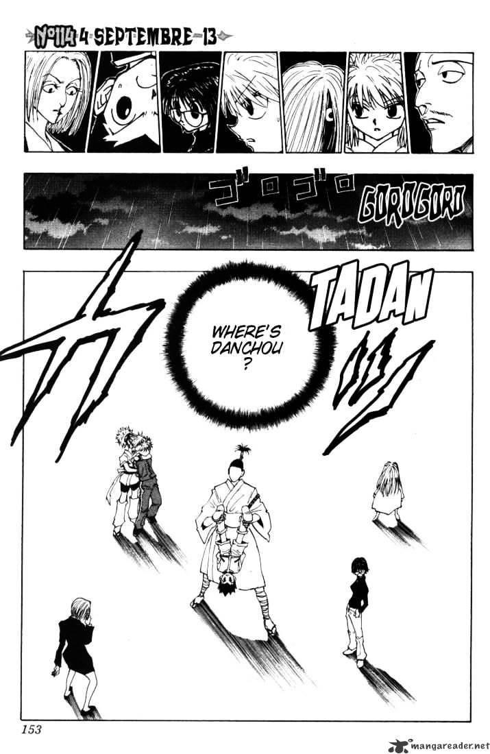 Hunter X Hunter Chapter 114  Online Free Manga Read Image 1