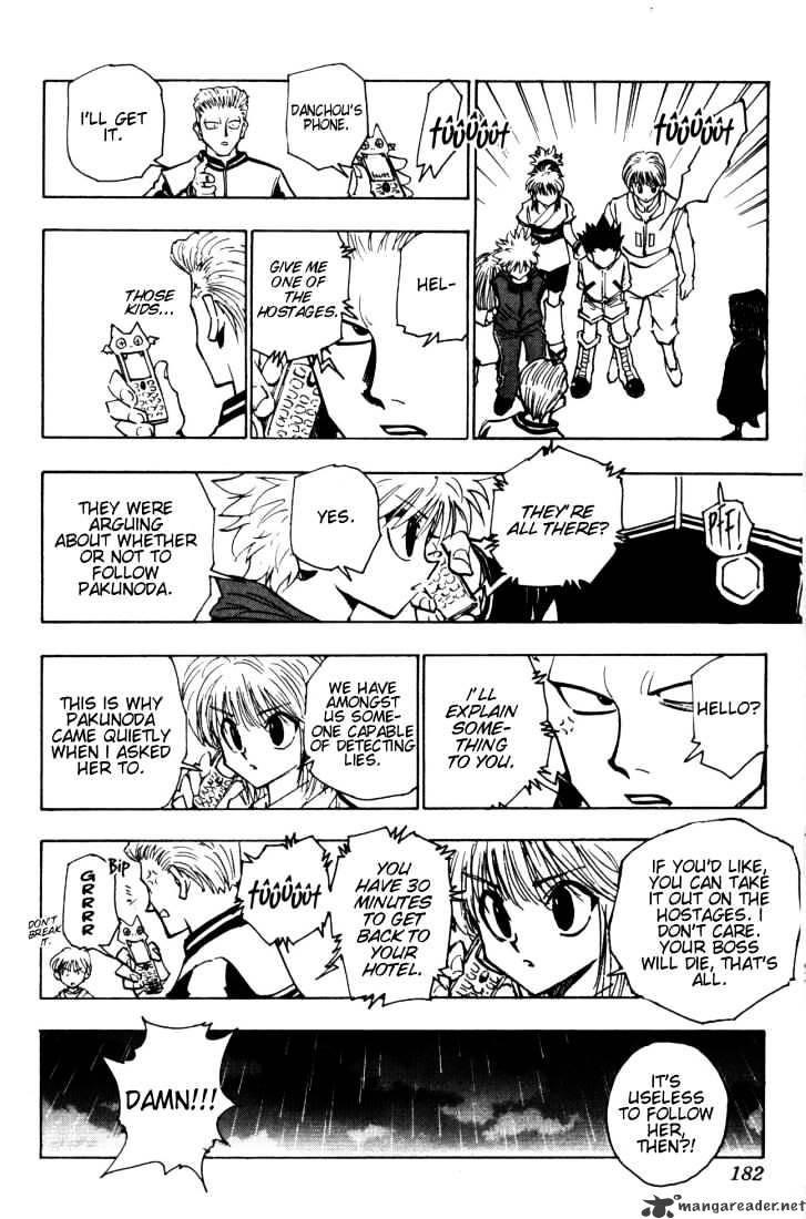 Hunter X Hunter Chapter 115  Online Free Manga Read Image 14