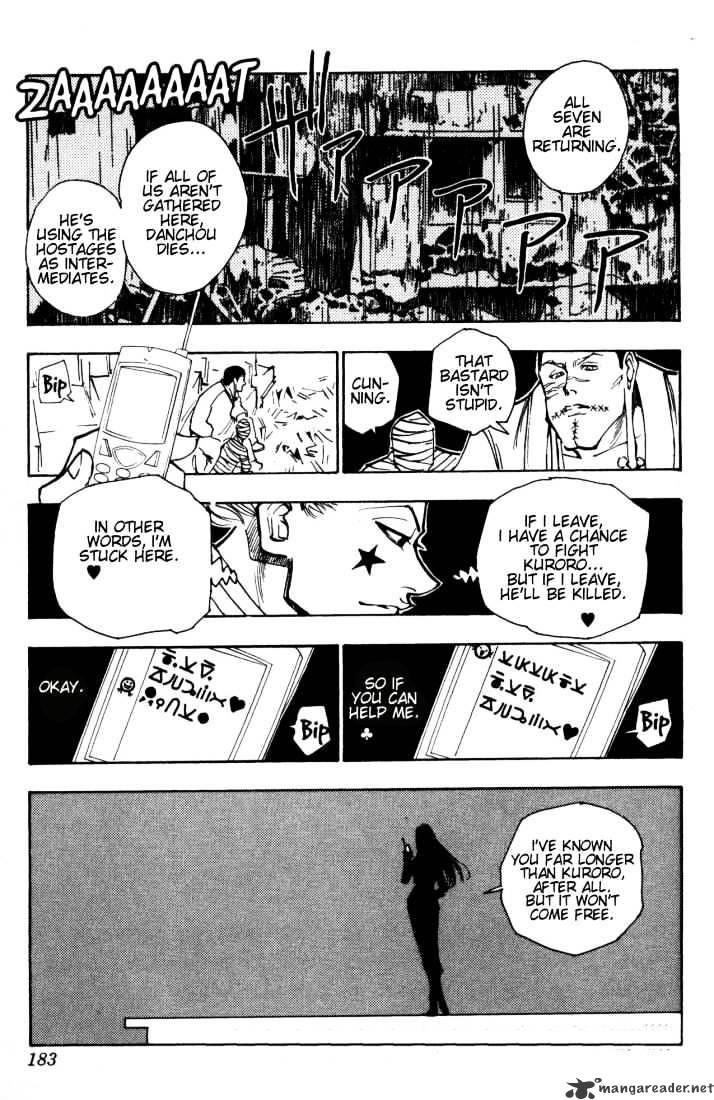 Hunter X Hunter Chapter 115  Online Free Manga Read Image 15