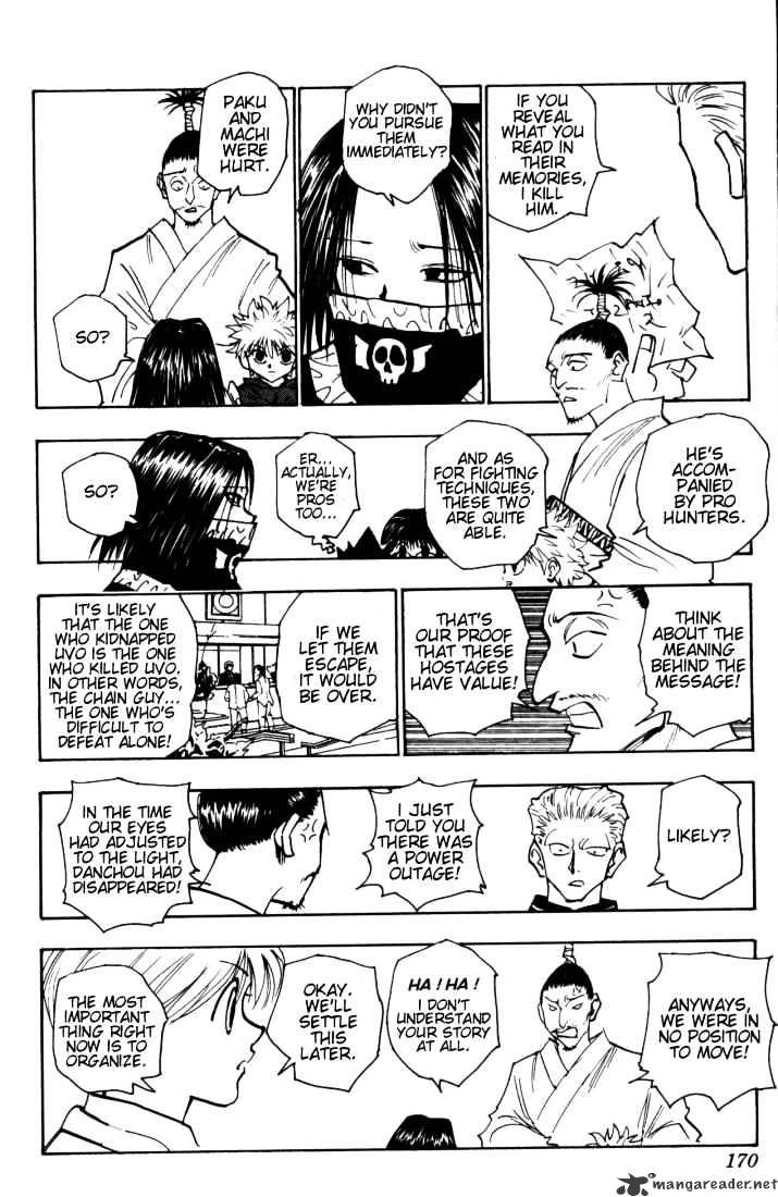 Hunter X Hunter Chapter 115  Online Free Manga Read Image 2