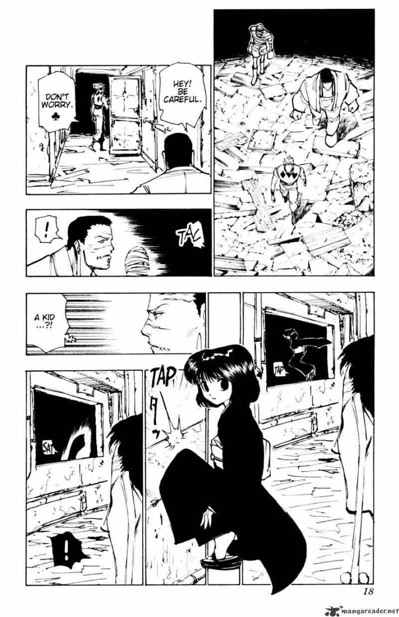 Hunter X Hunter Chapter 116  Online Free Manga Read Image 12