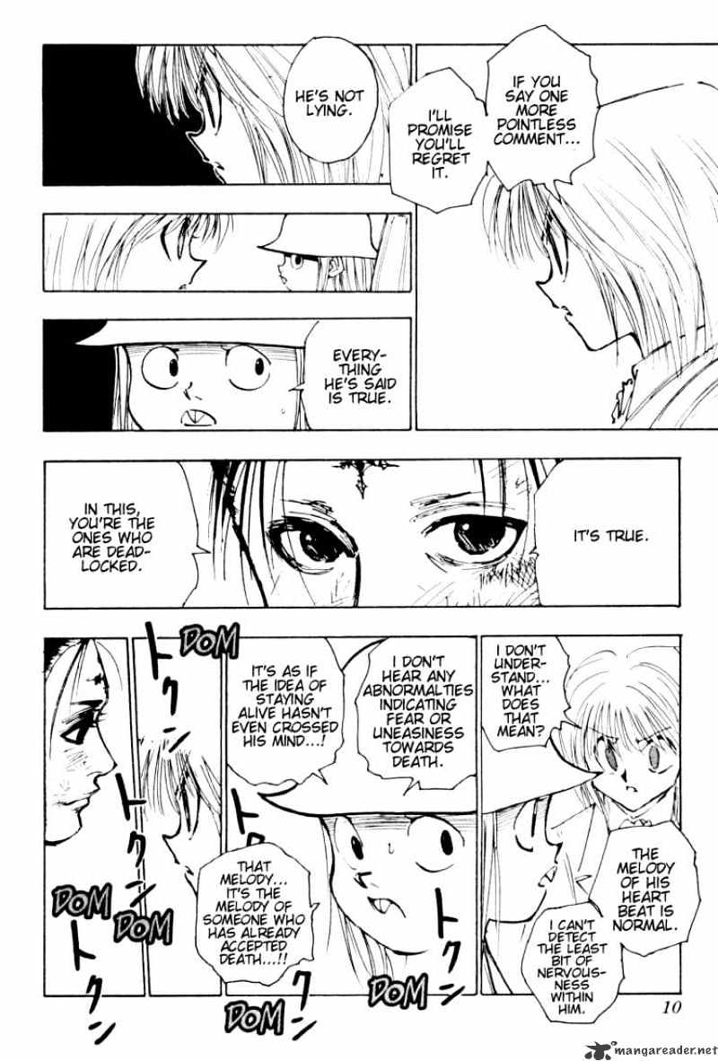 Hunter X Hunter Chapter 116  Online Free Manga Read Image 4