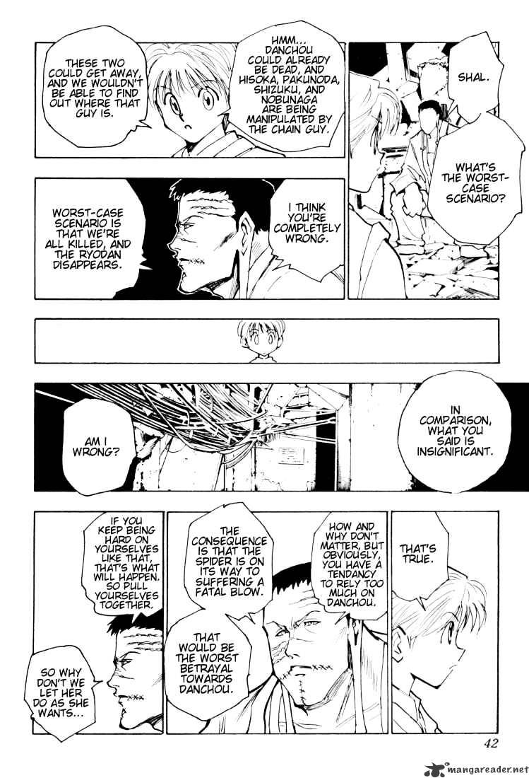 Hunter X Hunter Chapter 118  Online Free Manga Read Image 6
