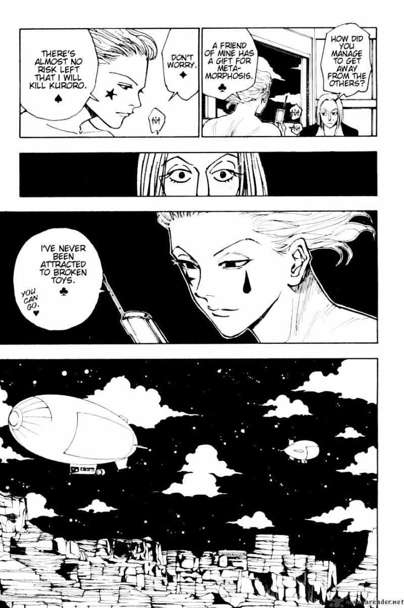 Hunter X Hunter Chapter 119  Online Free Manga Read Image 5