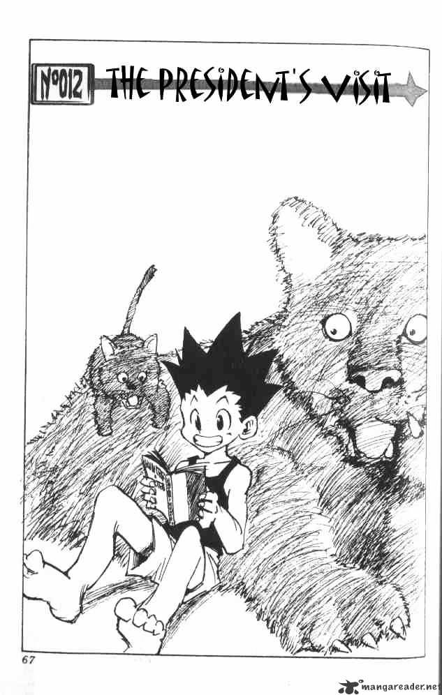Hunter X Hunter Chapter 12  Online Free Manga Read Image 2