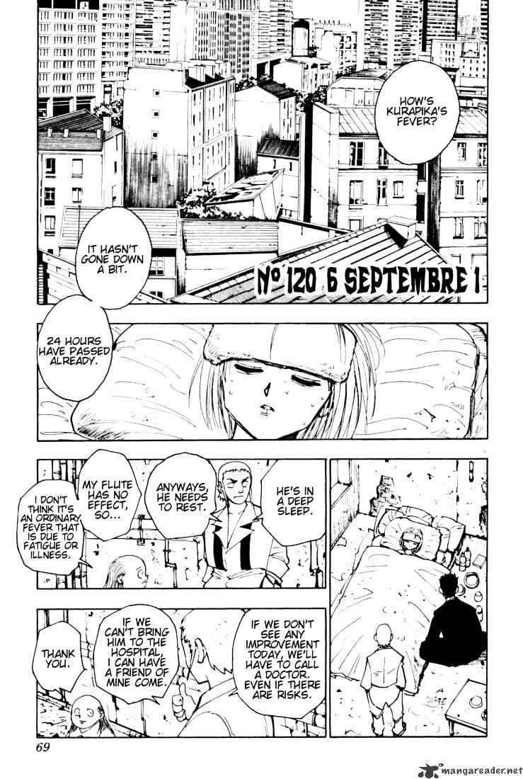 Hunter X Hunter Chapter 120  Online Free Manga Read Image 1