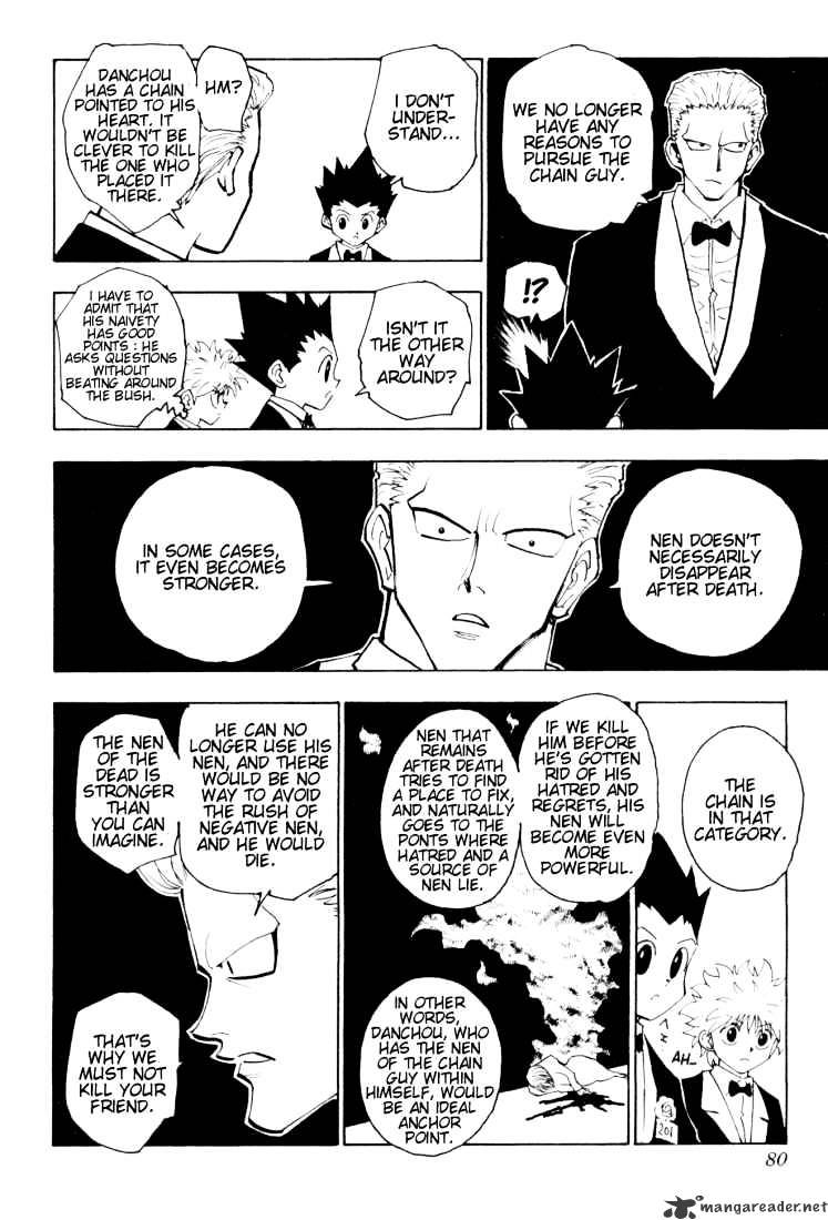 Hunter X Hunter Chapter 120  Online Free Manga Read Image 12