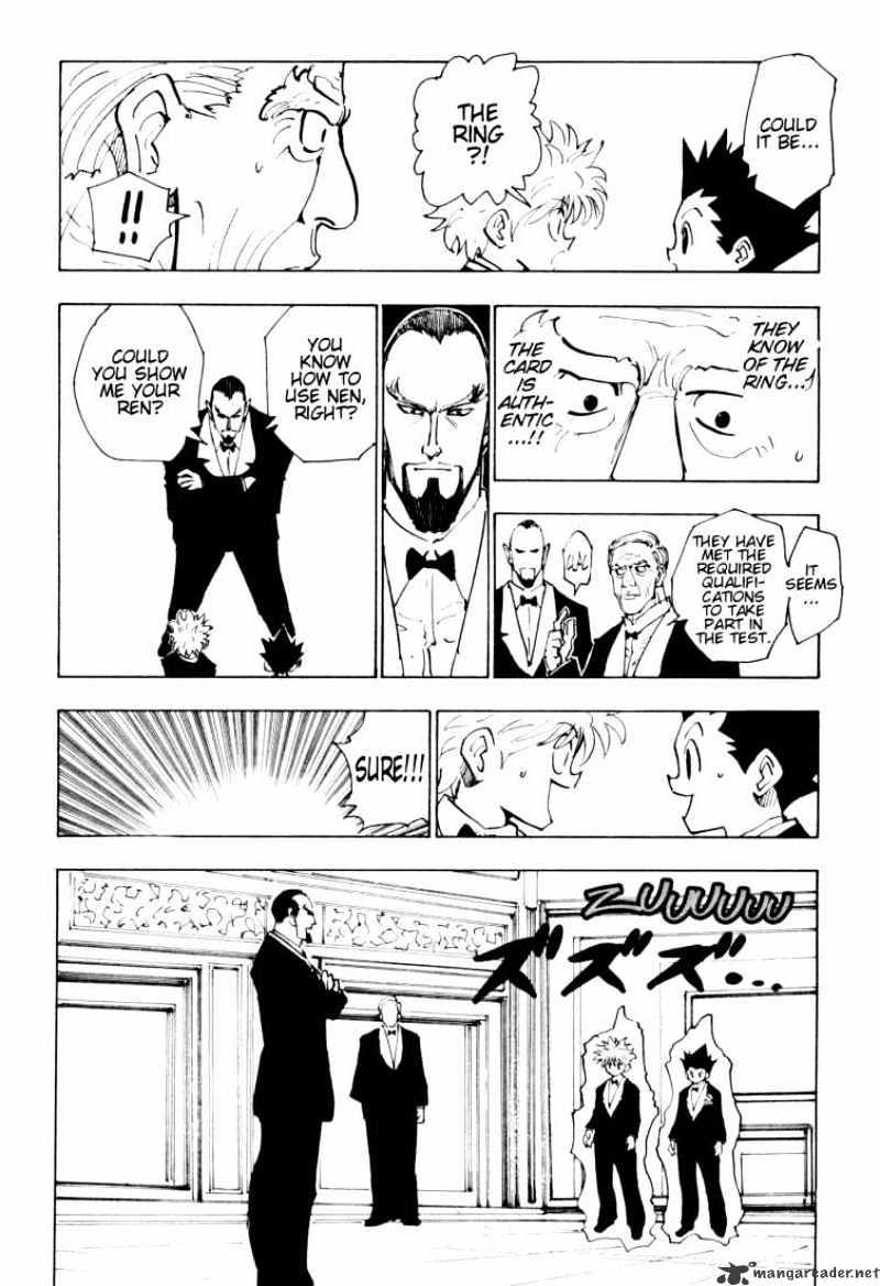 Hunter X Hunter Chapter 121  Online Free Manga Read Image 14