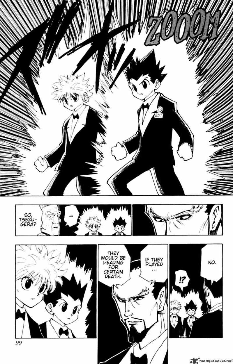 Hunter X Hunter Chapter 121  Online Free Manga Read Image 15