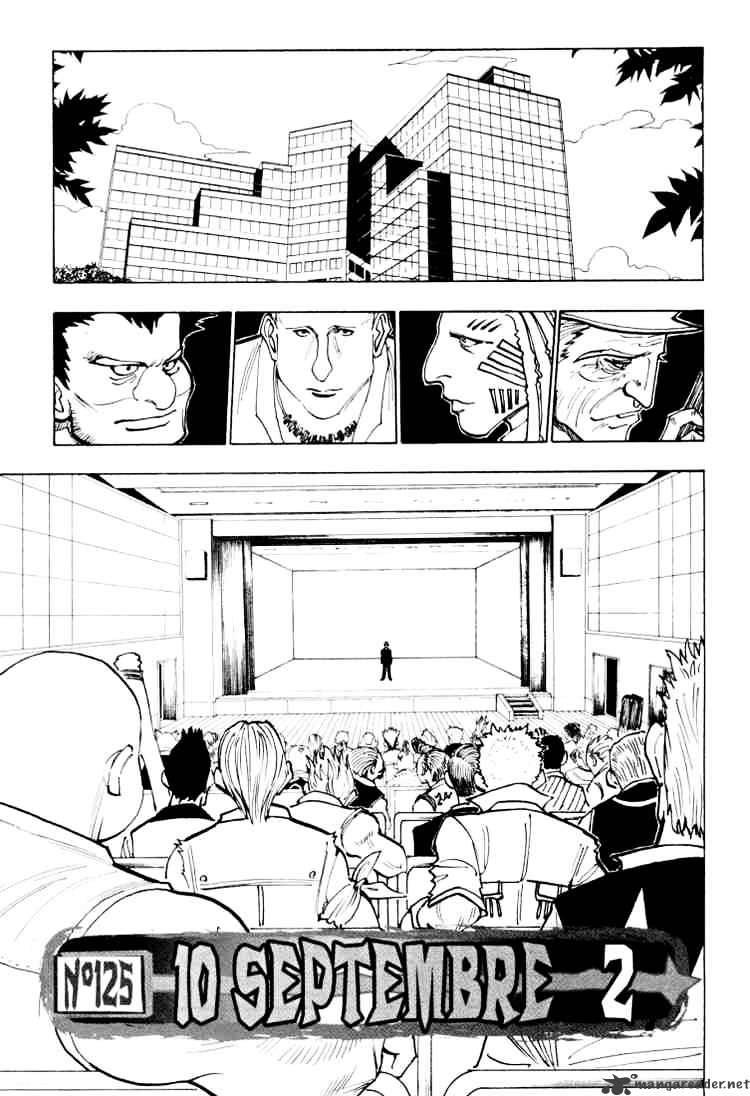 Hunter X Hunter Chapter 125  Online Free Manga Read Image 1