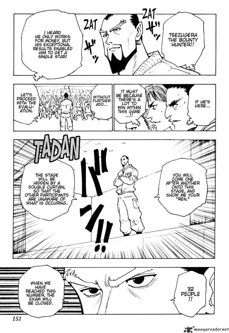 Hunter X Hunter Chapter 125  Online Free Manga Read Image 3