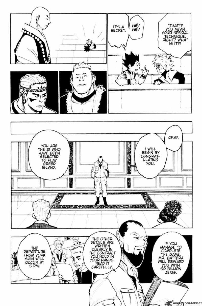 Hunter X Hunter Chapter 126  Online Free Manga Read Image 4