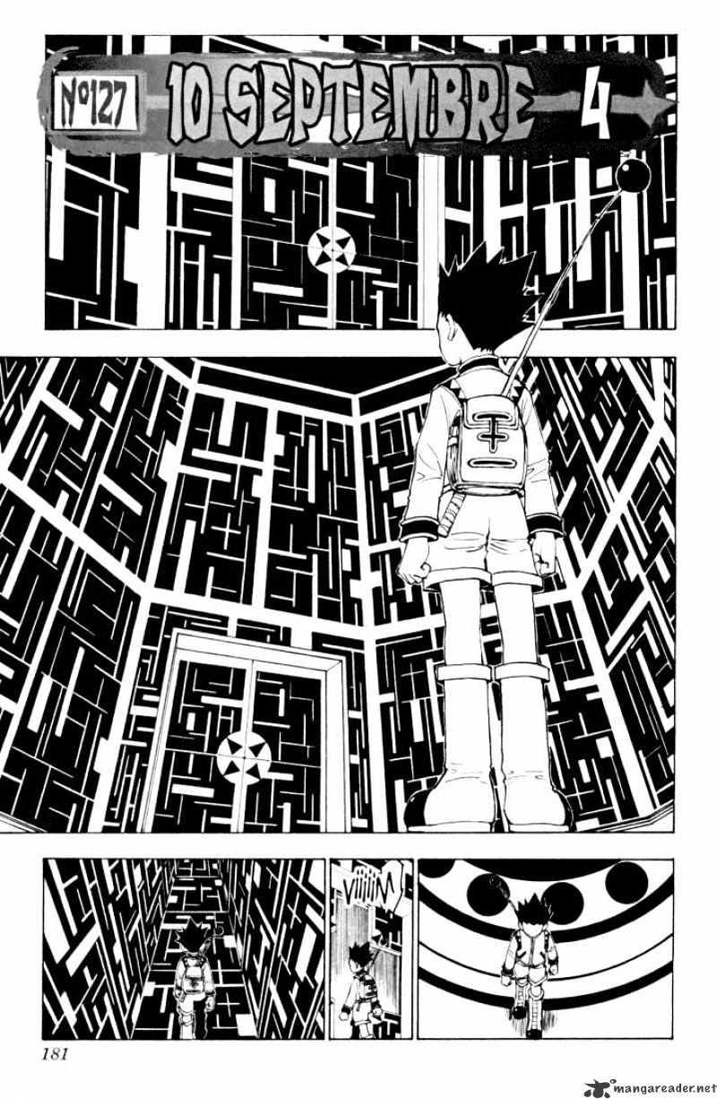 Hunter X Hunter Chapter 127  Online Free Manga Read Image 1