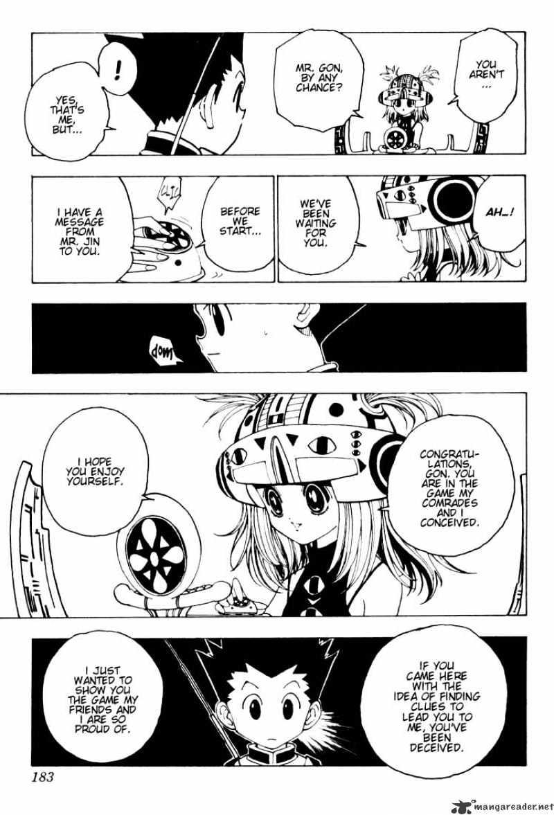 Hunter X Hunter Chapter 127  Online Free Manga Read Image 3