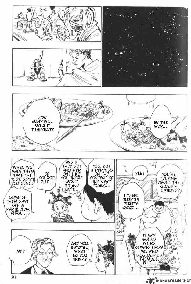 Hunter X Hunter Chapter 13  Online Free Manga Read Image 6