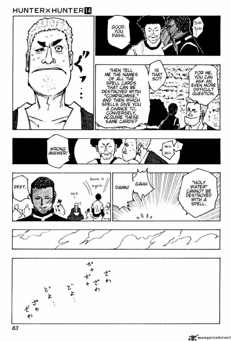 Hunter X Hunter Chapter 132  Online Free Manga Read Image 13
