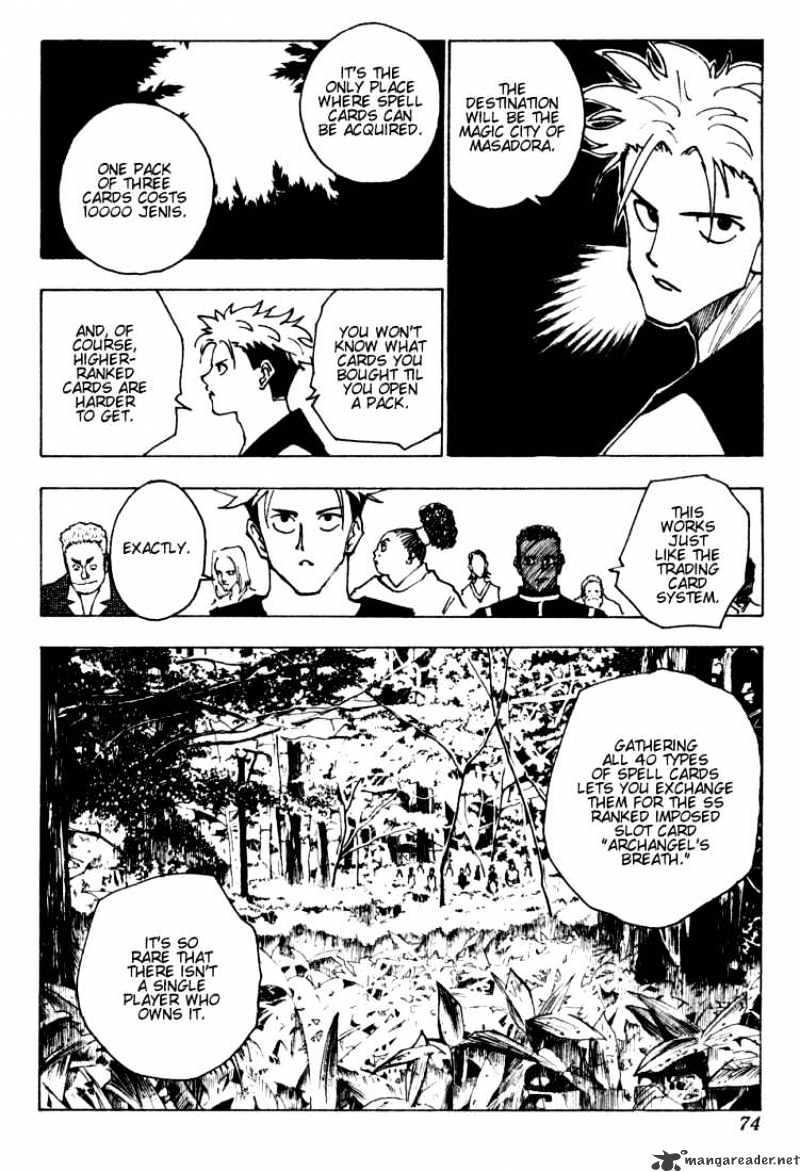Hunter X Hunter Chapter 132  Online Free Manga Read Image 4