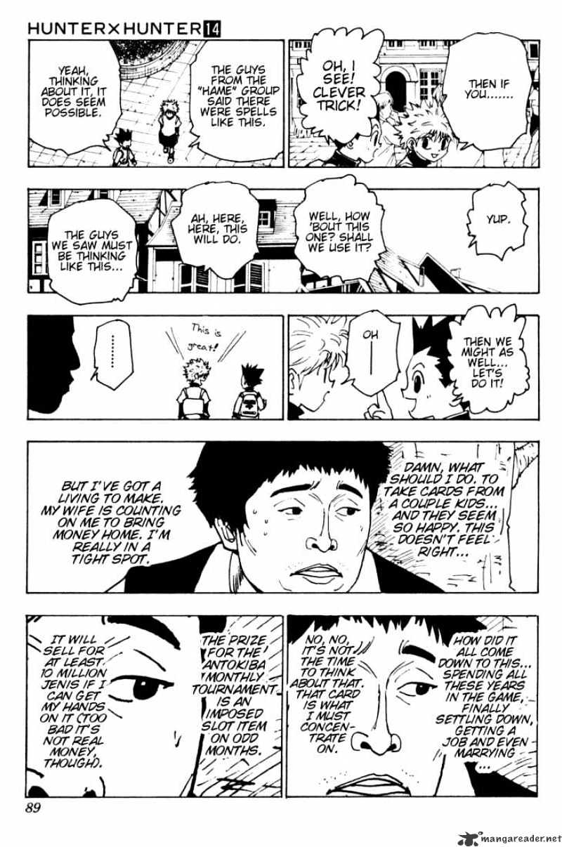 Hunter X Hunter Chapter 133  Online Free Manga Read Image 3