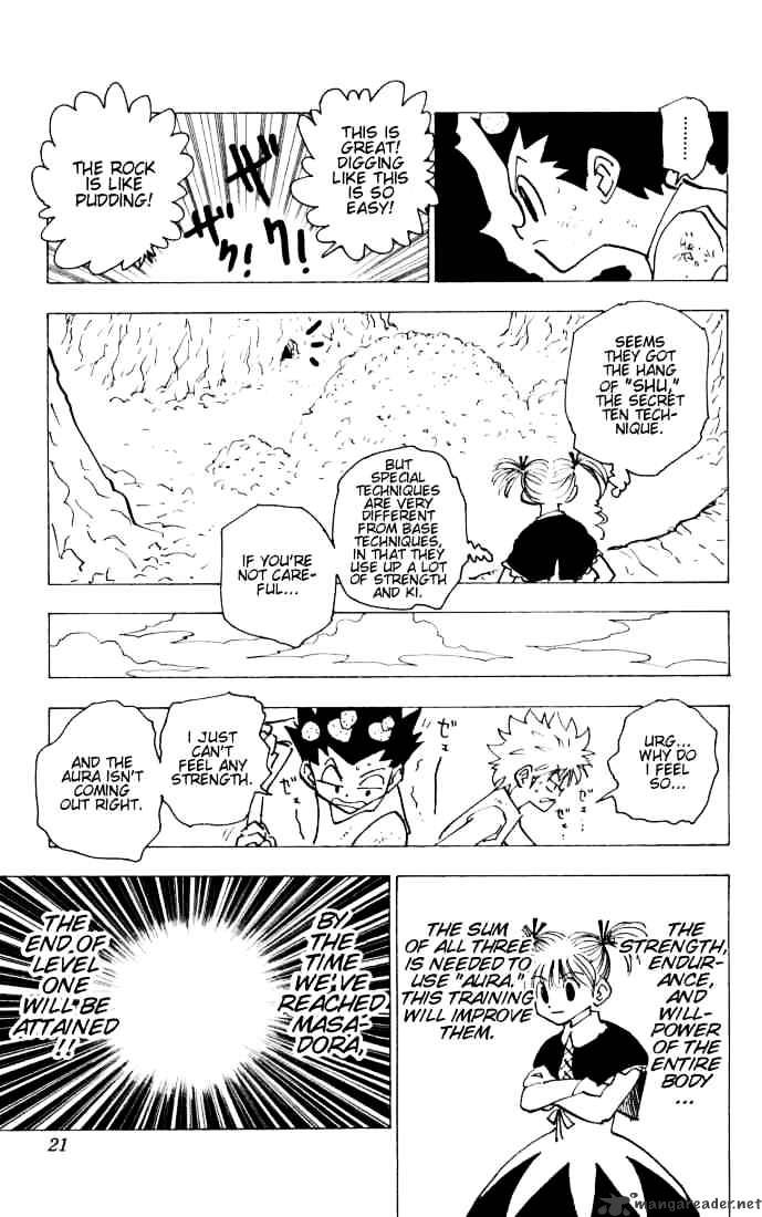 Hunter X Hunter Chapter 140  Online Free Manga Read Image 15