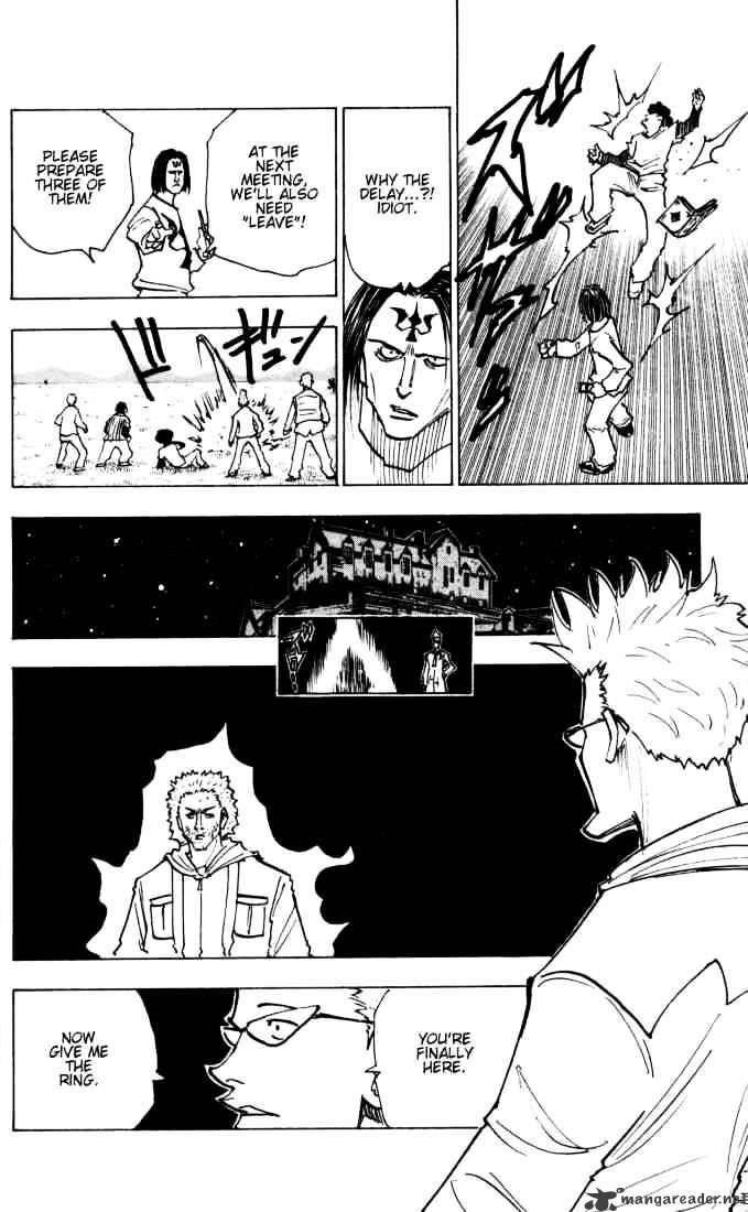 Hunter X Hunter Chapter 144  Online Free Manga Read Image 4