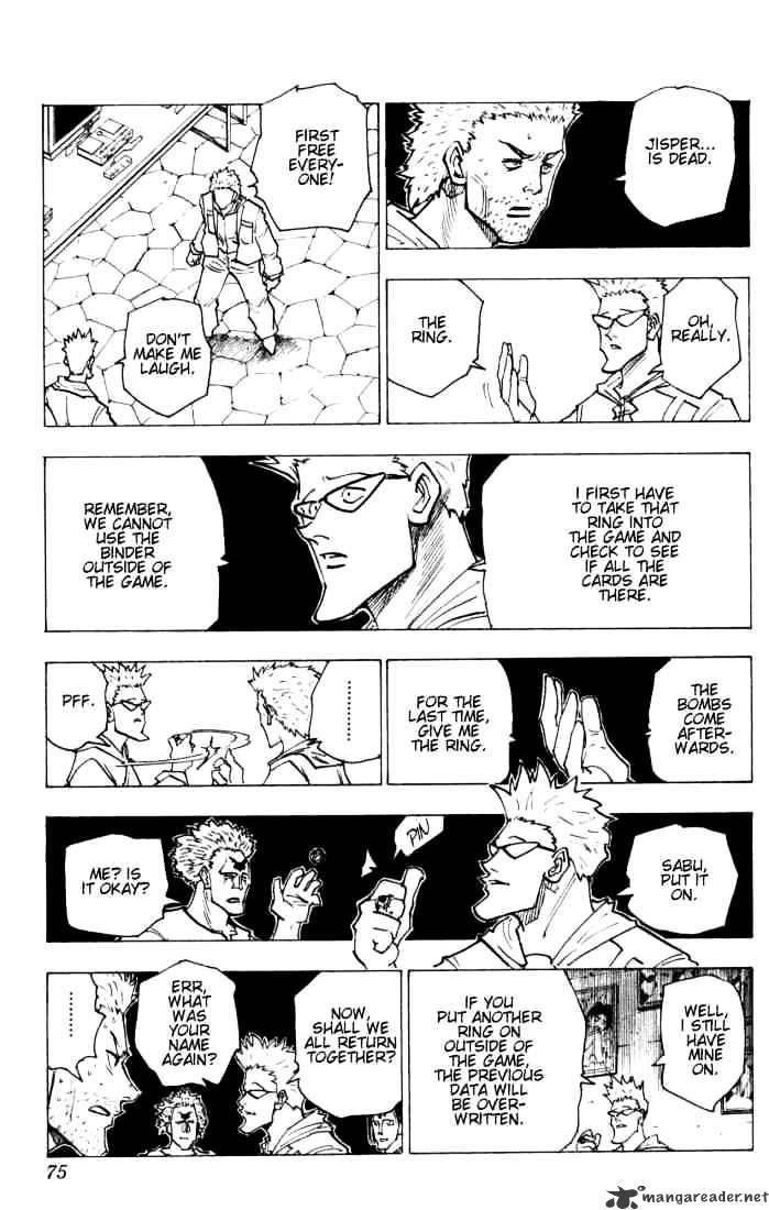 Hunter X Hunter Chapter 144  Online Free Manga Read Image 5