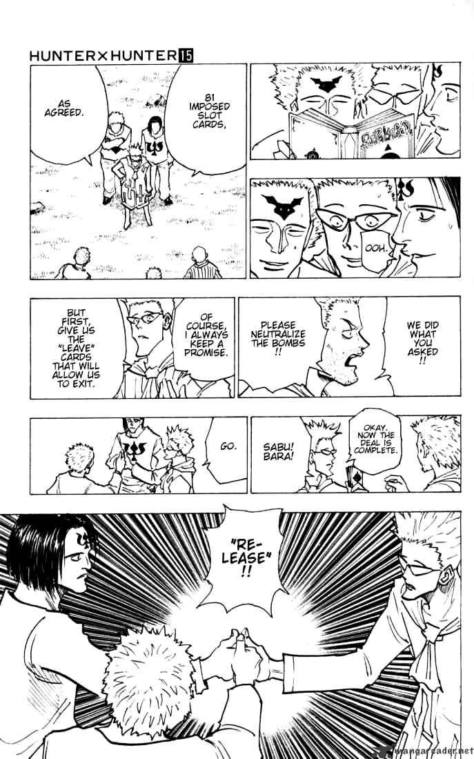 Hunter X Hunter Chapter 144  Online Free Manga Read Image 7