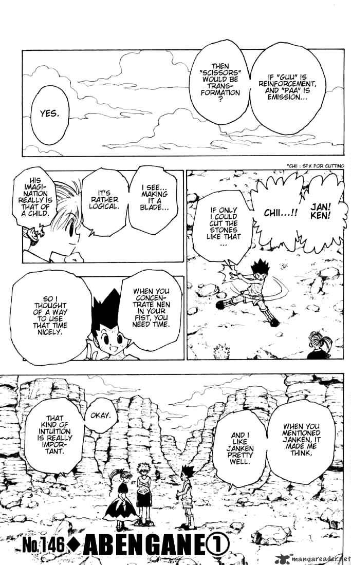 Hunter X Hunter Chapter 146  Online Free Manga Read Image 1