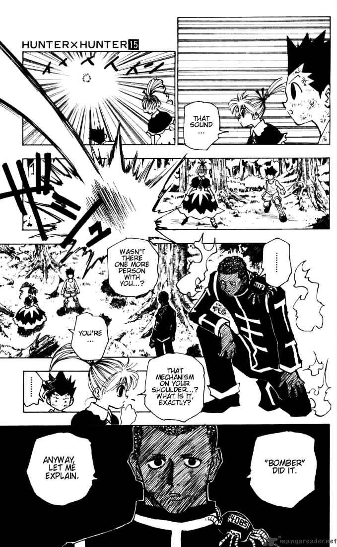 Hunter X Hunter Chapter 146  Online Free Manga Read Image 15