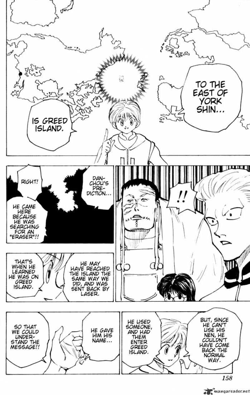 Hunter X Hunter Chapter 149  Online Free Manga Read Image 8