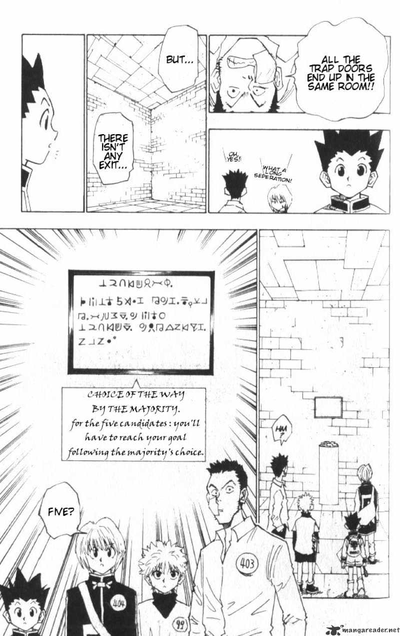 Hunter X Hunter Chapter 15  Online Free Manga Read Image 16