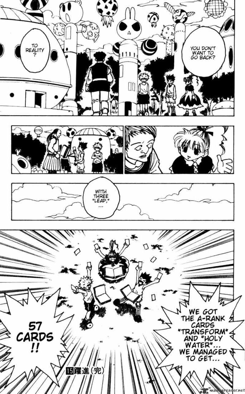 Hunter X Hunter Chapter 151  Online Free Manga Read Image 15