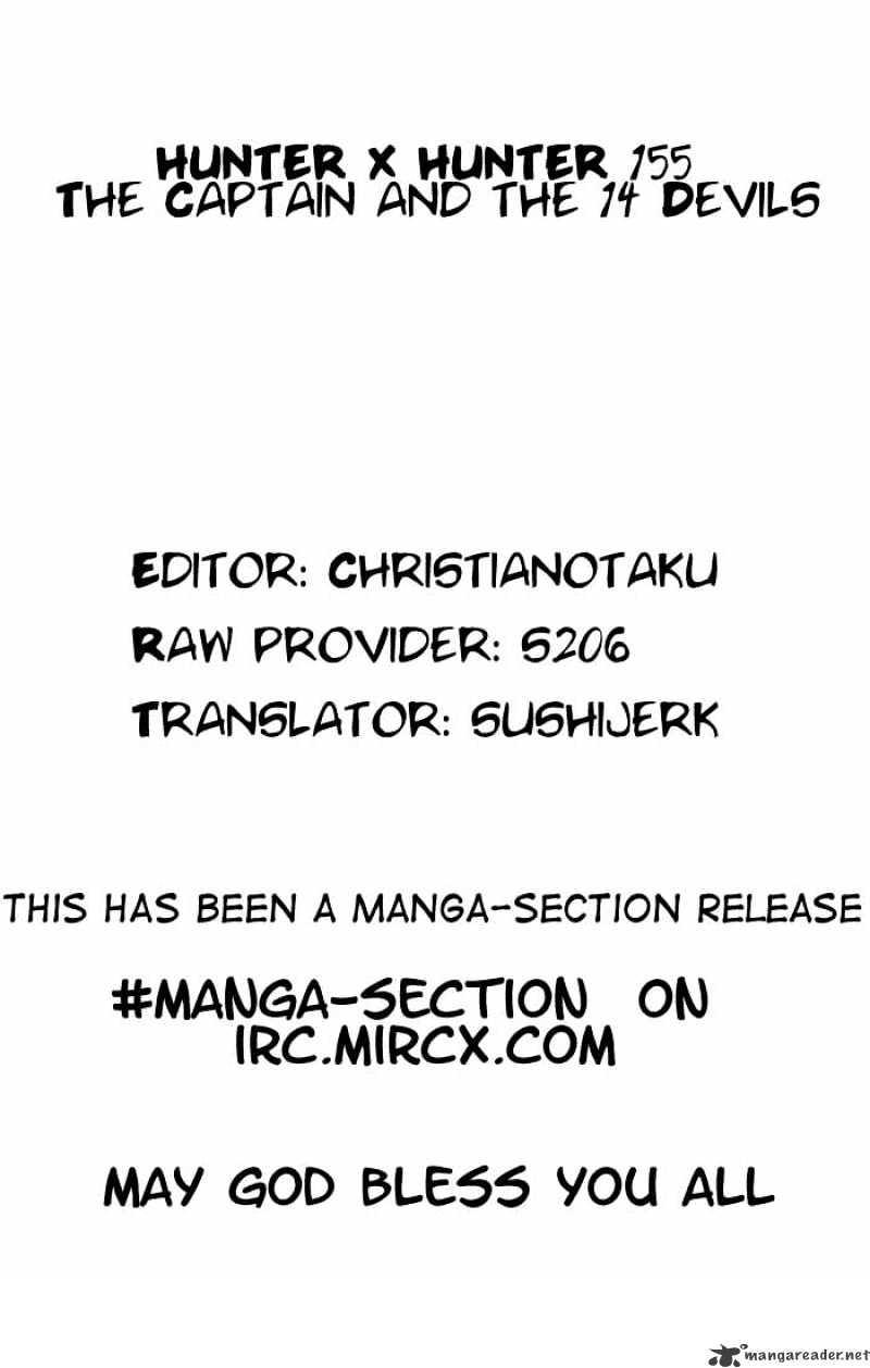 Hunter X Hunter Chapter 155  Online Free Manga Read Image 12