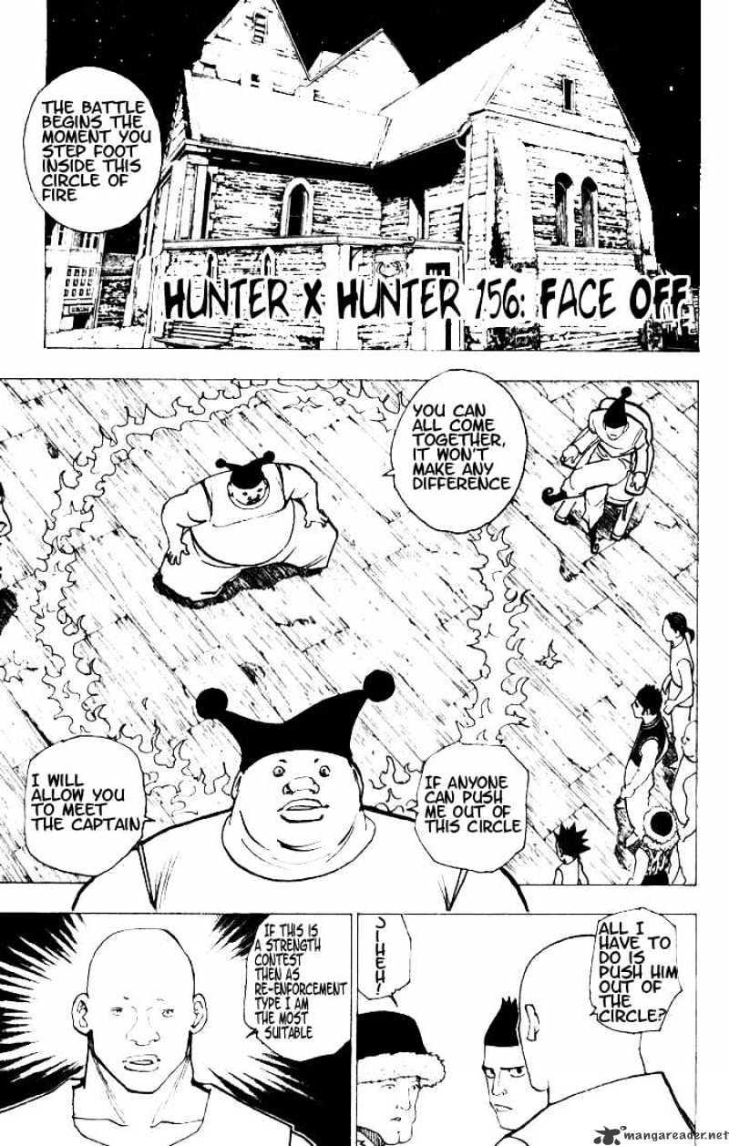Hunter X Hunter Chapter 156  Online Free Manga Read Image 1