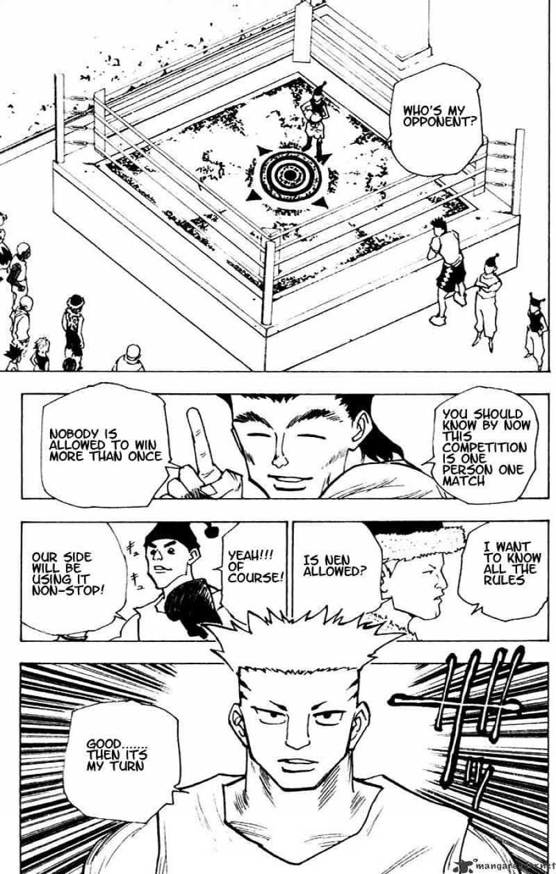 Hunter X Hunter Chapter 156  Online Free Manga Read Image 15
