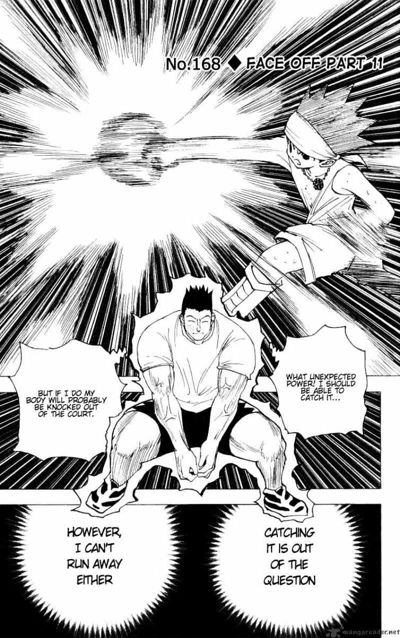 Hunter X Hunter Chapter 168  Online Free Manga Read Image 1