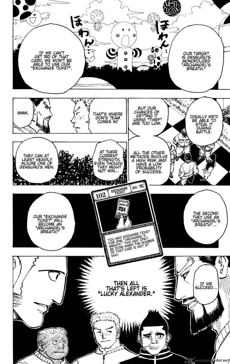 Hunter X Hunter Chapter 170  Online Free Manga Read Image 14