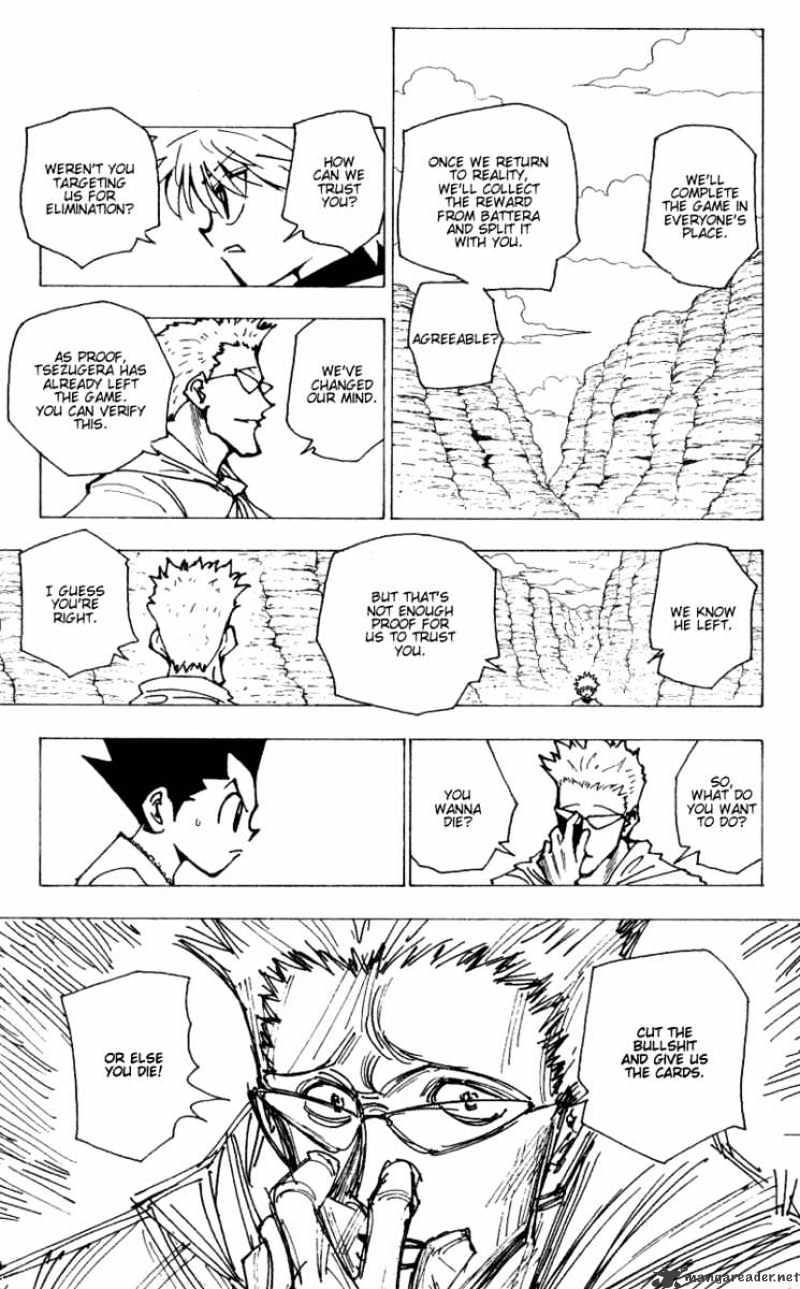 Hunter X Hunter Chapter 175  Online Free Manga Read Image 5