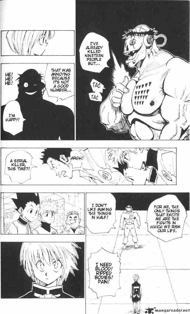 Hunter X Hunter Chapter 18  Online Free Manga Read Image 4