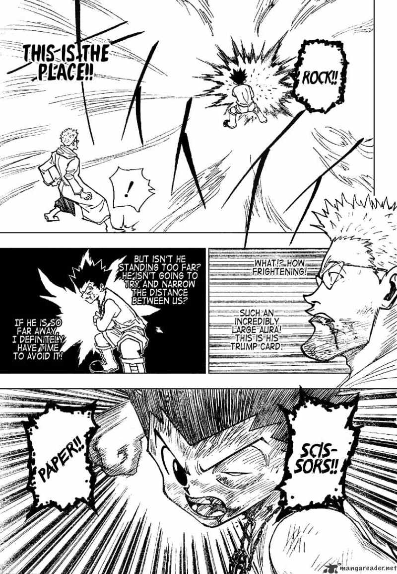 Hunter X Hunter Chapter 181  Online Free Manga Read Image 3
