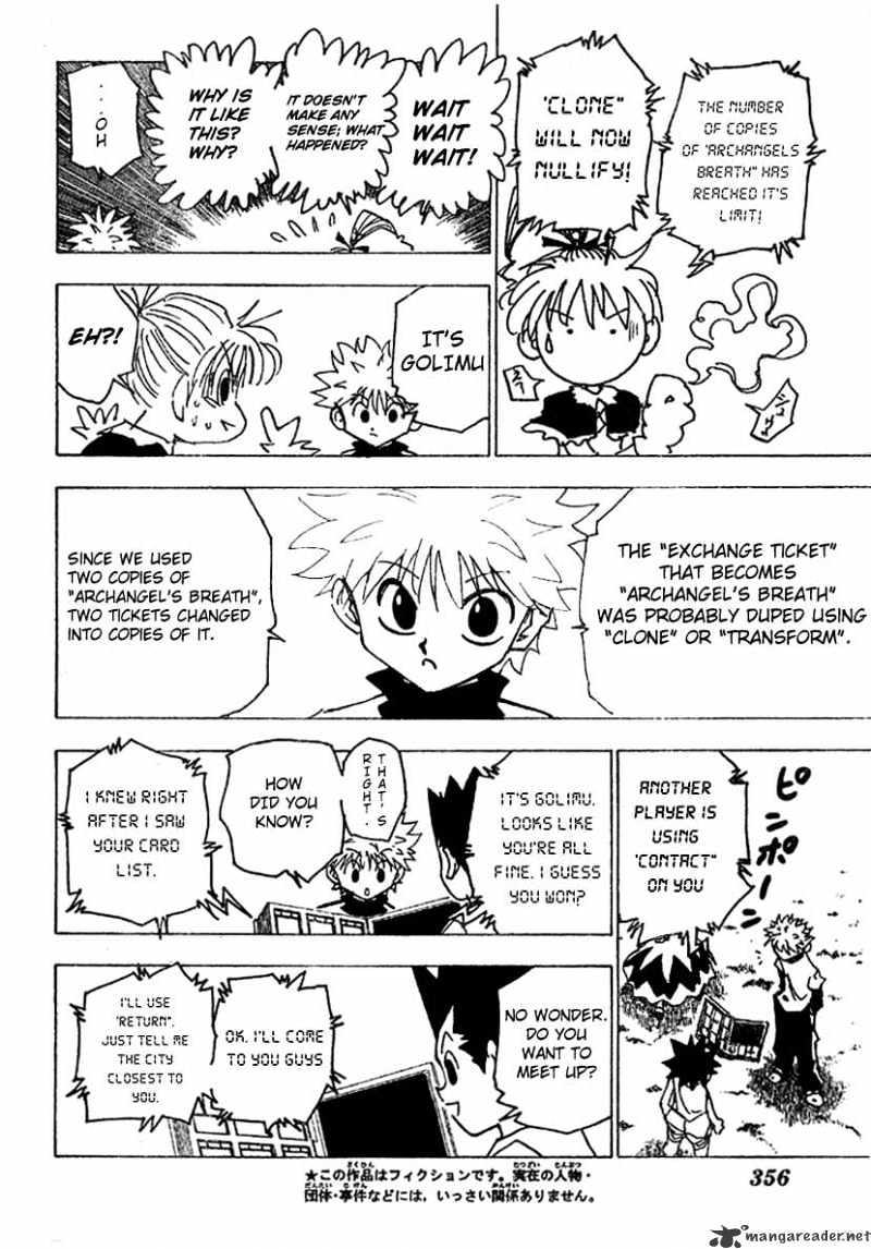 Hunter X Hunter Chapter 182  Online Free Manga Read Image 4