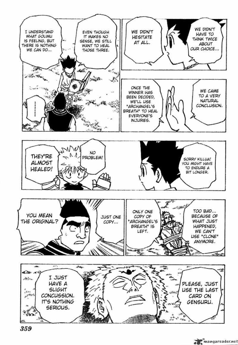 Hunter X Hunter Chapter 182  Online Free Manga Read Image 7