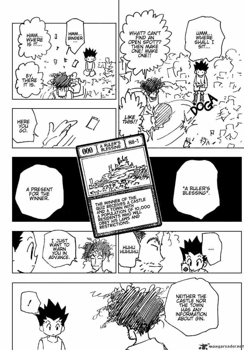 Hunter X Hunter Chapter 184  Online Free Manga Read Image 2