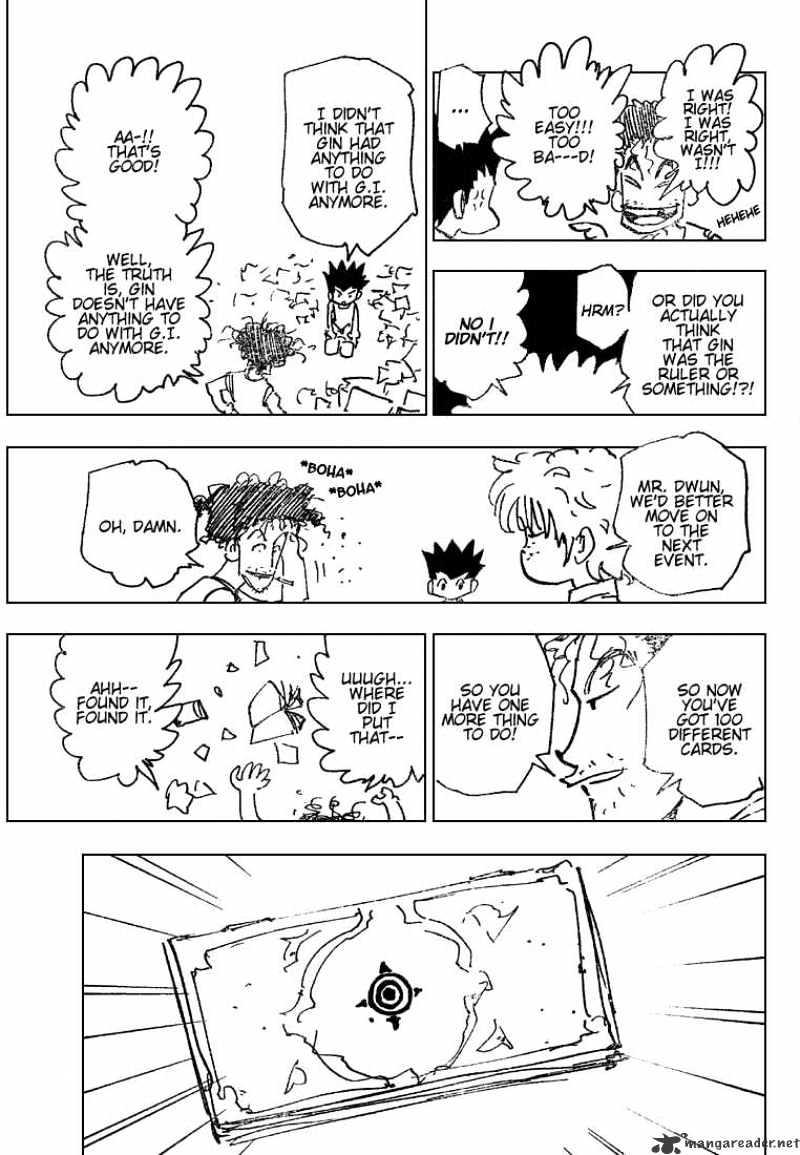 Hunter X Hunter Chapter 184  Online Free Manga Read Image 3