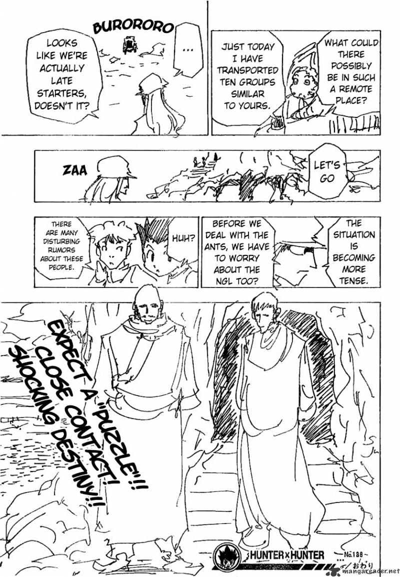 Hunter X Hunter Chapter 188  Online Free Manga Read Image 14