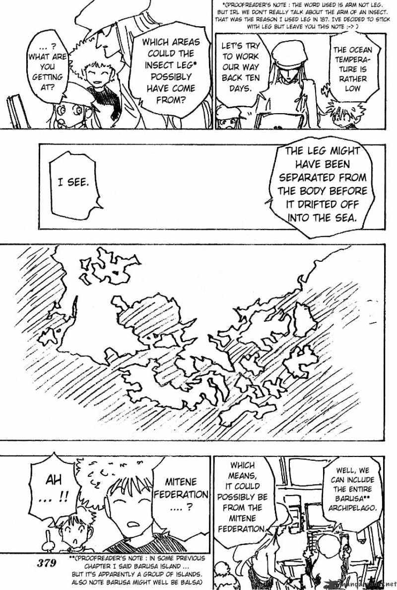 Hunter X Hunter Chapter 188  Online Free Manga Read Image 5